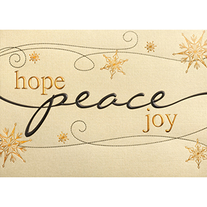 hope-peace-joy this Holiday season